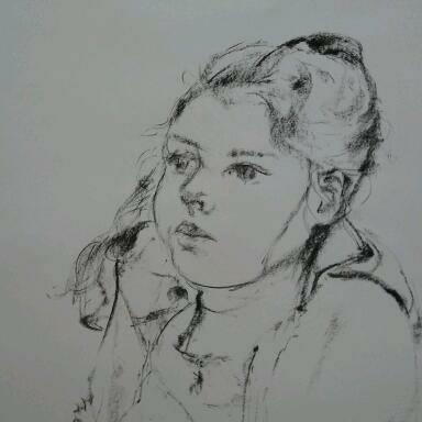 Zayaz portret t Zand Iris